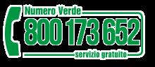 Numero Verde 800 173 652