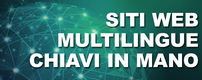 Siti multilingue chiavi in mano
